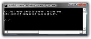 Activar la cuenta Administrador (Oculto) en Windows 7 2