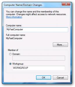 Cambiar nombre del equipo en Windows 7 1