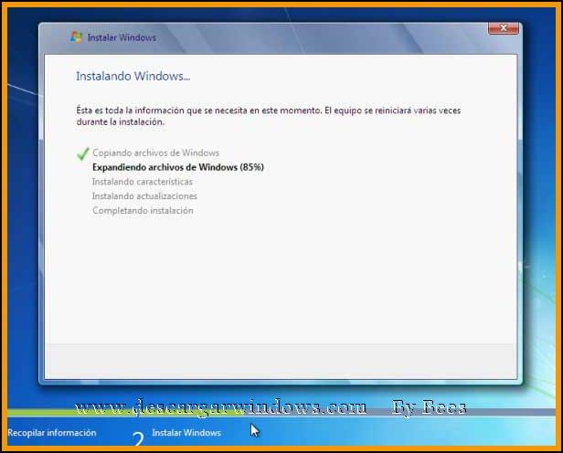 Instalación Windows 7 paso 9