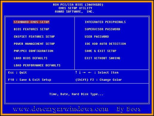 Instalación Windows 7 paso 1