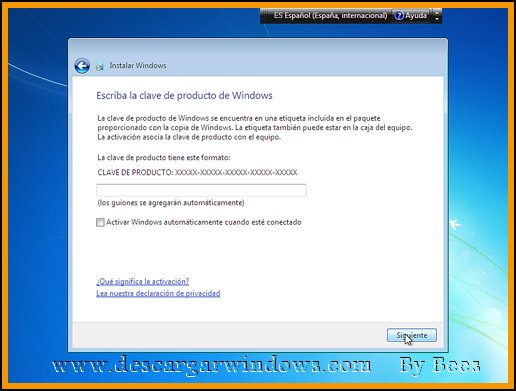 Instalación Windows 7 paso 12