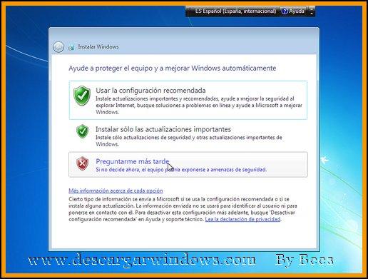 Instalación Windows 7 paso 13