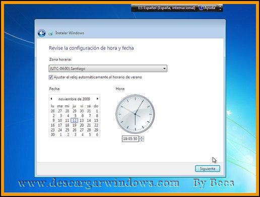 Instalación Windows 7 paso 14