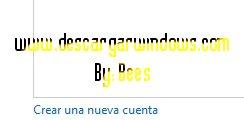 Crear cuenta usuario en Windows paso 3