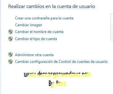 Crear cuenta usuario en Windows paso 2