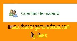 Crear cuenta usuario en Windows paso 1
