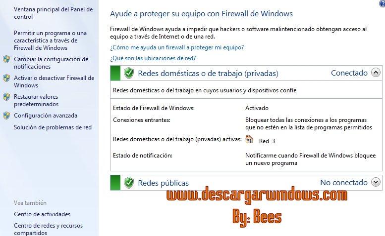 Abrir puertos en Windows paso 2