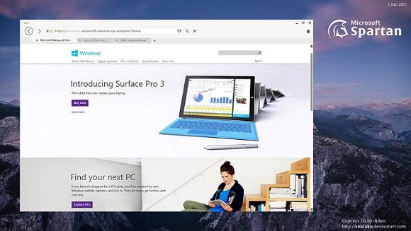 Spartan, la revolución de Windows 10 para celulares 1
